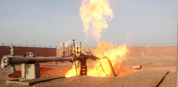 Sinai gas pipeline